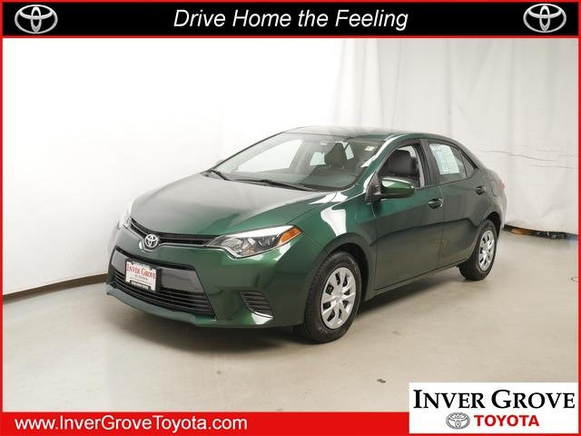 Pre Owned 2015 Toyota Corolla LE ECO 4dr Car in Inver Grove Heights