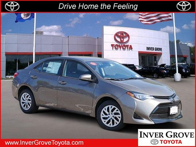New 2019 Toyota Corolla Le 4dr Car In Inver Grove Heights K1009