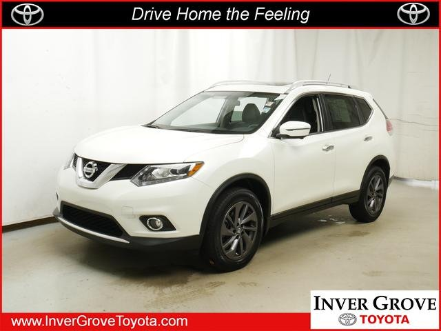 Inver Grove Nissan >> Pre Owned 2016 Nissan Rogue Sl Sport Utility