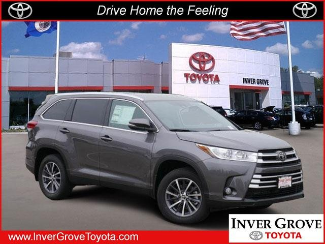 New 2019 Toyota Highlander Xle Sport Utility In Inver Grove Heights