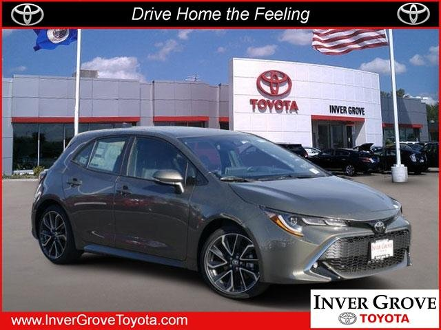 New 2019 Toyota Corolla Hatchback Xse 4dr Car In Inver Grove Heights