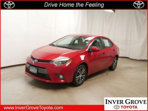 Certified Pre Owned 2016 Toyota Corolla Le 4dr Car