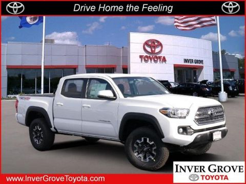 New 2017 Toyota Tacoma TRD Off Road CrewMax