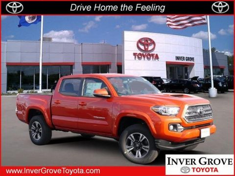 New 2017 Toyota Tacoma TRD Sport CrewMax
