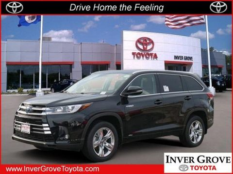 New 2019 Toyota Highlander Hybrid Limited